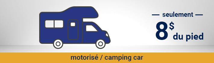 Antirouille - Motorisé / Camping car - seulement 8$ du pied