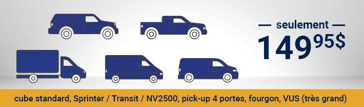 Antirouille - cube strandard, Sprinter / Transit / NV2500, Pickup 4 portes, fourgon, VUS (Très grand) - seulement 139.95$