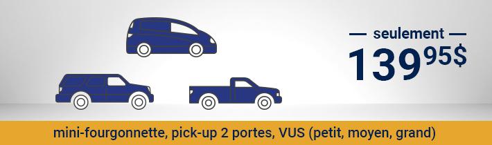 Antirouille - Mini-fourgonnette, pick-up 2 porte, VUS (petit, moyen, grand) - seulement 129.95$