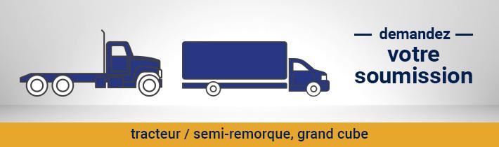 Demandez votre soumission Anti-rouille tracteur / semi-remorque, grand-cube