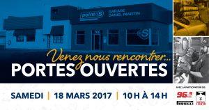 Porte ouverte 18 mars