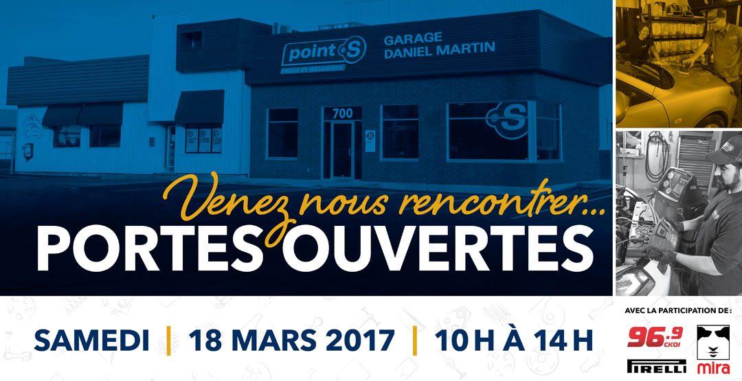 Le Garage DM vous ouvre ses portes le 18 mars prochain